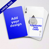 Large Playing Cards Series Classic Poker