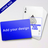 Large Playing Cards Series Classic Poker (Landscape)