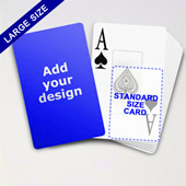 Large Playing Cards Series Classic Poker With Jumbo Index