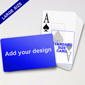 Large Playing Cards Series Classic Poker With Jumbo Index (Landscape)