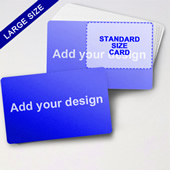 Big Creator Blank Game Card (Landscape)