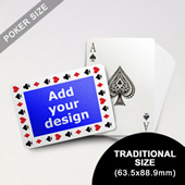 Timeless Frame Custom Poker (Landscape) (63.5 X 88.9mm)