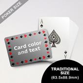 Timeless Frame Poker With Custom Message (Landscape) (63.5 X 88.9mm)