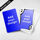 Bridge Size Playing Cards Frame Back