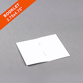 Blank Game Booklet 2.75X4.75