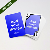Mini Card Series 2 Side Blank With Framed Back