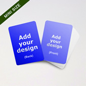 Mini Card Series Custom Cards (Blank Cards)