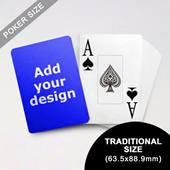 Jumbo Index Cards Poker Size (63.5 X 88.9mm)