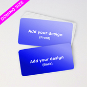 Domino Deck Custom Blank Cards Horizontal