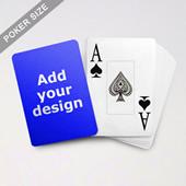 Jumbo Index Cards Poker Size