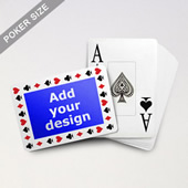 Timeless Frame Custom Poker With Jumbo Index (Landscape)