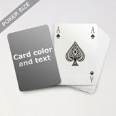 Bridge Style Selection Poker With Custom Message