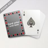 Timeless Frame Poker With Custom Message
