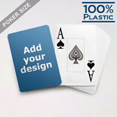 Design Plastic Jumbo Poker Cards
