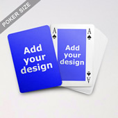 Classic Bridge Style Poker Size Custom Front And Back Playing Cards