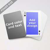 Classic Personalized Both Sided Playing Cards