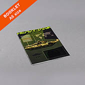 Custom A5 Booklet