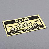 Paper Money One Hundred Dollars