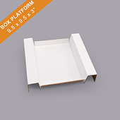 Corrugated Game Box Platform 9.5X9.5X3