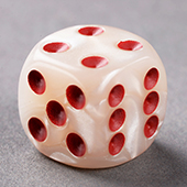 Marble Dice 18mm