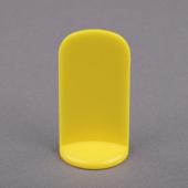25X51mm Plastic Pawn Yellow