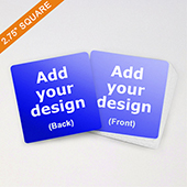 Custom Square 2.75 Inch Game Cards