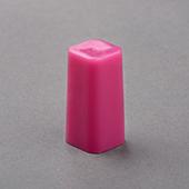Square Column & Hollow Plastic Pawn Purple