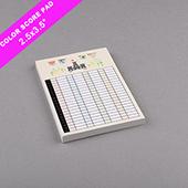 Custom Score Pad Small Size Full Printing