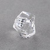 14mm Plastic Crystal Plastic Pawn Transparent