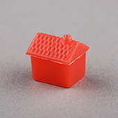 Plastic 'House' (Red)