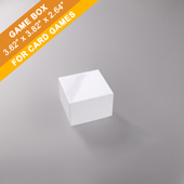 Plain Card Game Boxes 200 Cards