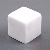 16mm Plain Dice Straight Corners