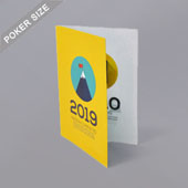 Bi-Fold Booklet For Poker Size 2.5