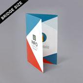 Bi-Fold Booklet For Bridge Size 2.25