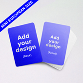 Custom Mini European Playing Cards 44mm X 67mm