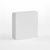 54 Blank 2.75 Inch Square Size Cards