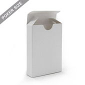 Plain Tuck Box For Poker Playing Cards