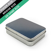 Tin Box For Poker/Bridge Sized Cards