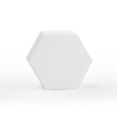 70 Blank Hex Cards 2.2X2.54
