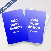 Custom Jumbo Cards (3.5