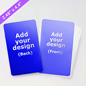 Custom 2.48X4.41 Inch Game Card (63 X 112mm)