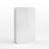 40 Blank 63 X 112mm Size Cards