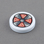 double-sides Custom Game Tokens 27mm x 6mm white