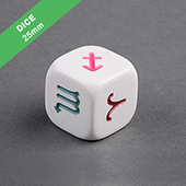 25mm Engraved Dice
