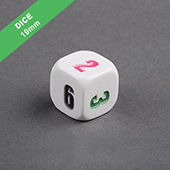 19mm Engraved Dice