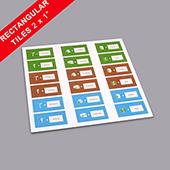Custom Rectangle Game Tiles 2