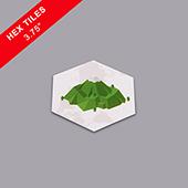 Custom Hexagon Game Tiles 3.25