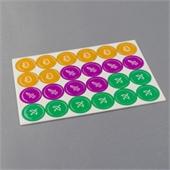 Custom Circular Game Tiles 25mm