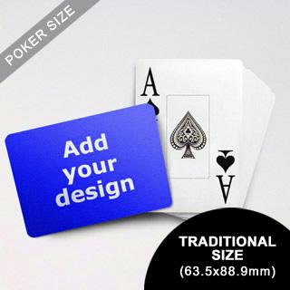 Jumbo Index Cards Poker Size (Landscape) (63.5 X 88.9mm)
