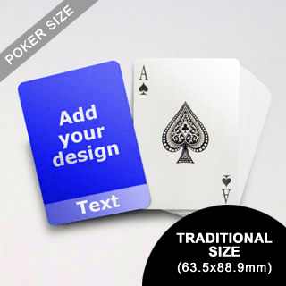 Cool Personalized Photo Playing Cards (63.5 X 88.9mm)